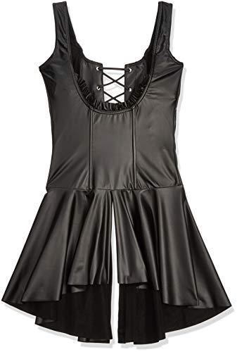 Noir Handmade Damen 27149901041 Schwarz Handmade Kleid brustfrei Größe L, (Nero 001), 54 (Herstellergröße: Large)