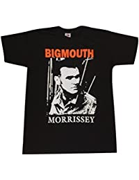 Blue Bagal Mens Morrissey (The Smiths) T Shirt 'BigMouth'