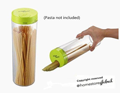 HomeStore Global, partiti di festa Feste Contenitore per pasta con dosatore dal design pratico ed elegante. Il prodotto é utile per riporre la pasta in modo pratico ed accattivante - verde
