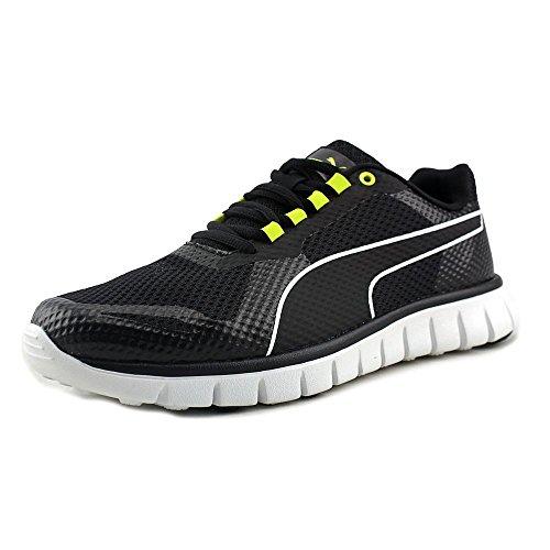 Puma Chaussures de course Blur Black/Sulphur Spring/White