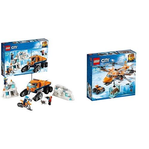 LEGOCity Arktis-Erkundungstruck 60194 Kinderspielzeug & LEGO City 60193 Arktis-Frachtflugzeug