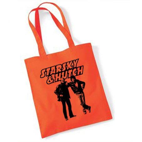 Starsky & Hutch pouf e borsa Tote, colore: arancione