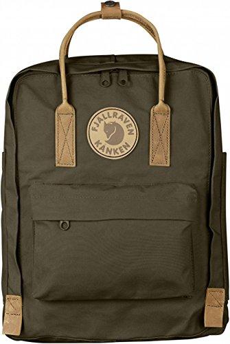 Fjällräven Kånken No. 2 Backpack - Dark Olive, One Size