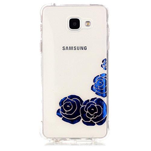 inShang Samsung Galaxy A3 2016 Coque Housse de Protection Etui 4,7 inch [Transparent Coque d'Samsung Galaxy] [bronzante technologie 3D image],Ultra mince et léger Case Cover de protection pour Samsung Galaxy A3 2016 4,7 inch