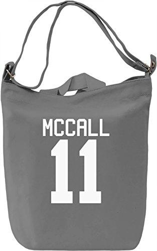 Scott McCall's Jersey Leinwand Tagestasche Canvas Day Bag| 100% Premium Cotton Canvas| DTG Printing| (Vintage-jersey Scott)