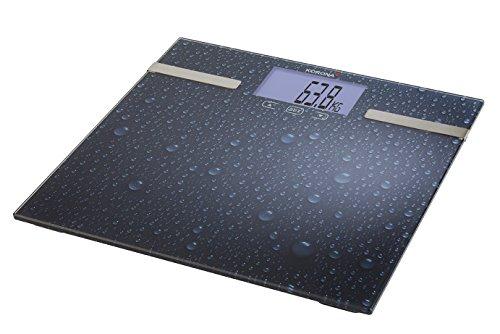 Korona 73550 Digitale Diagnosewaage - Analysewaage von Körperfett, Körperwasser und Muskelanteil
