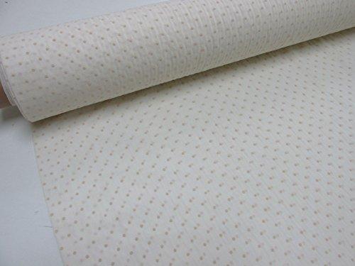Metraje 0,50 mts tela etamín visillo cortinas Ref. Plumeti color beig, con ancho 2,80 mts.