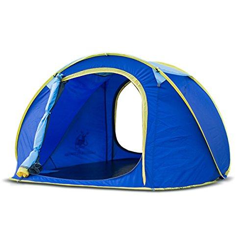 Automatisch Pop-Up Instant Zelt Für Camping Skylight Design Zelte Mit Tragetasche Schnell Geöffnet 2-3 Person Canopy Easy Von Qisan Aufstellen