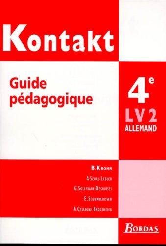 Deutsch ist klasse :4ème. Livret du professeur par Krohn