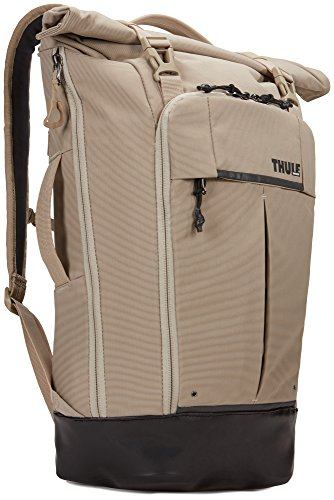 Thule 153956 Paramount Rucksack (Großes Laptop/Tablet-Fach, SafeZone-Fach, Robustes 420D-Nylon) Beige, 24L - Computer-beratung