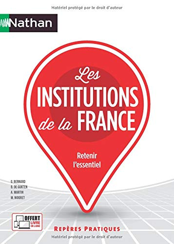 Les institutions de la France par Mauricette Niogret