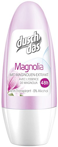 Duschdas Deo Roll-On Magnolia Anti-Transpirant, 6er Pack (6x 50 ml)