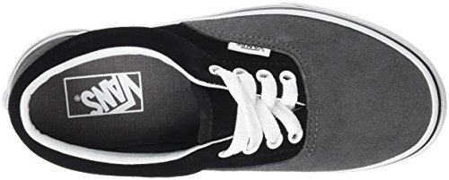 Vans Unisex-Kinder Era Low-Top Grau (Suede pewter/black)