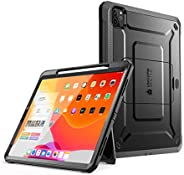SUPCASE UB Pro Series Case for iPad Pro 12.9 2020, Support Apple Pencil Charging with Built-in Screen Protecto