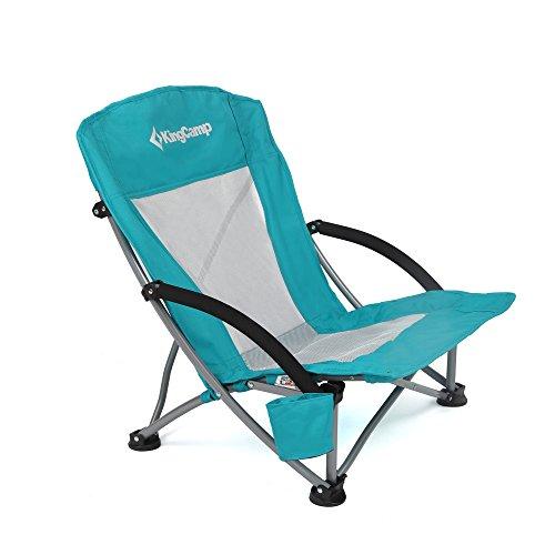 KingCamp | Silla para playa o camping de malla transpirable