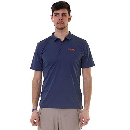 Regatta Maverick IV Poloshirt für Herren 3XL Dunkles Jeansblau