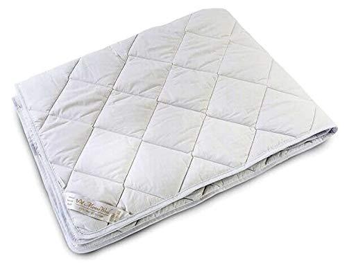 Merino Wool - Piumino 450g/mq, dimensioni: 230x 220cm Materiali naturali. Biancheria matrimoniale.