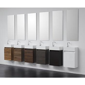 Gäste-WC Badmöbel Waschbecken mit Unterschrank: Amazon.de: Küche ...