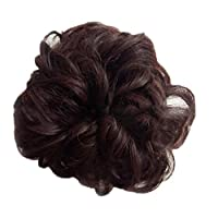 grefaydin Women Wig Repair Tool Women Hairs Bun Extension Wavy Curly Messy Chignons Wig Hairpiece Scrunchie