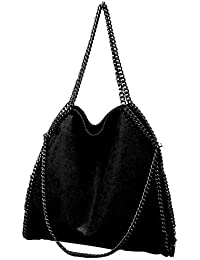 71164e65a0 Amazon.es  Piel - Shoppers y bolsos de hombro   Bolsos para mujer ...