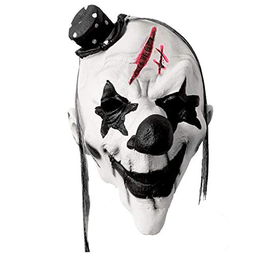 sichtsmaske Scary Joker Halloween Gruselige Horror Party Outfit Spoof Supplies ()