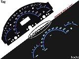 LETRONIX Plasma Tacho tachimetro per auto classe A W168 0 - 220 km/h 5000 giri/min