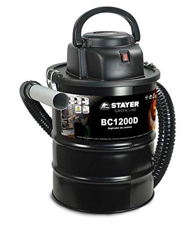 Stayer 11998 Aspirador de Ceniza, 230 V, Negro