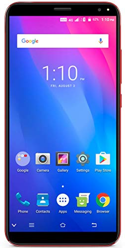 Xifo Ismart i1 Mega 4G Volte (Jio sim Supported) 5.5 Inch Display 4G Smartphone Blue (2GB RAM, 16GB Storage) in Red Colour