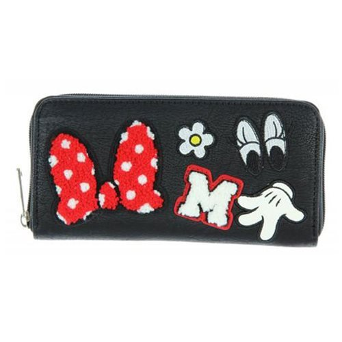 Loungefly Disney - Cartera tarjetero Parches Minnie