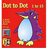 Buki Dot to Dot 1 to 15 - Penguin