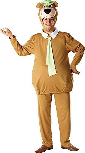 Yogi Bär Kostüm für Erwachsene Karneval Fasching Verkleidung Standard (Bär Kostüm Yogi)