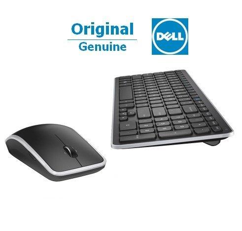 Dell KM714 drahtlos Tastatur - Maus Set mit Unifying-Empfänger, deutsch, schwarz