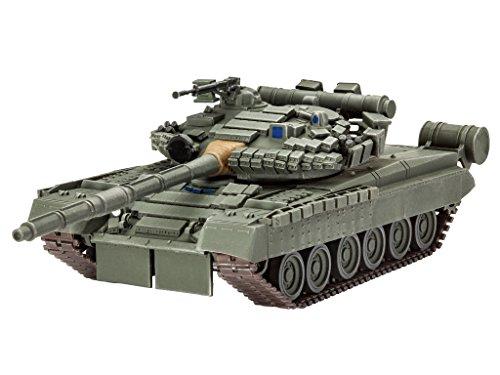 Revell - 3106 - Maquette De Char d'assaut - Soviet Tank T-80 BV - 144 Pièces - Echelle 1/72