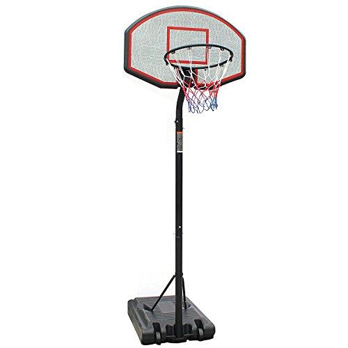 Iunnds Profi-Basketballkorb mit Ständer, höhenverstellbar, tragbar