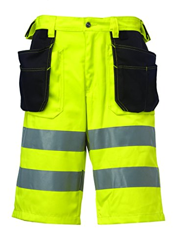 HELLY HANSEN WORKWEAR 34-076495-369-50 - SHORT  UNISEX  COLOR AMARILLO  TALLA 50