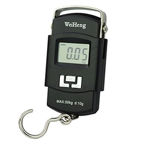 Jannat 50kg Handheld LCD Display Electronic Digital Travel Luggage Weighing Scale  available at amazon for Rs.275