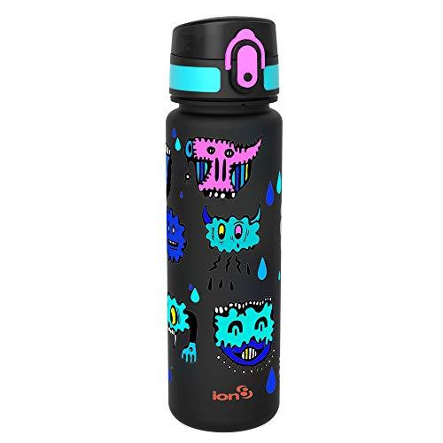 Ion8 auslaufsichere Schlanke Wasserflasche/Trinkflasche, BPA-Frei, 500ml / 18oz, Hasworld
