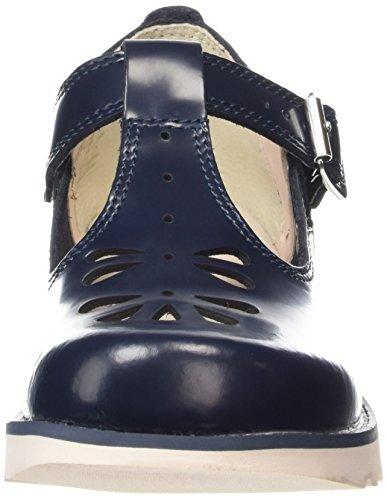Kickers Kick T Suma, Leather, Af Dk Blue, Mary Jane femme Bleu (Dark Blue)