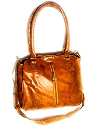 Unique Leather Sling Cum Handbag For Women's And Girls