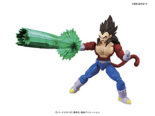 Bandai Hobby- Vegeta Super Saiyan 4 Model Kit 14 cm Dragon Ball GT Figure-Rise Standard 84087P, Multicolor (BDHDB144984) 4