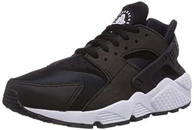 Nike Air Huarache, Chaussures de Running Femme, Noir (Black/black/white), 36 EU
