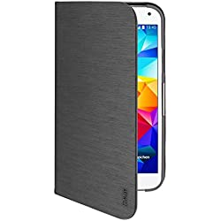 Artwizz SeeJacket Folio Etui avec Support pour Samsung Galaxy S5/S5 Neo Noir