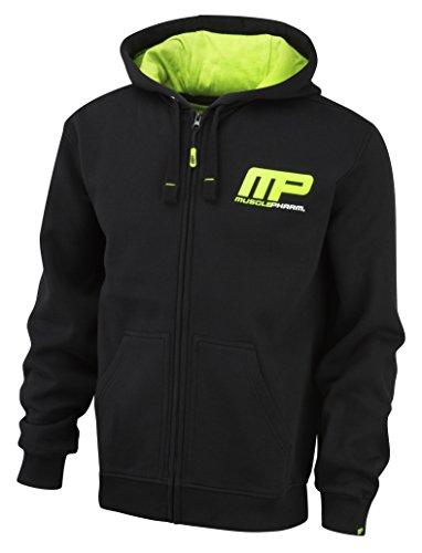 Muscle Pharm Herren Textilbekleidung Pullover Hoody Green