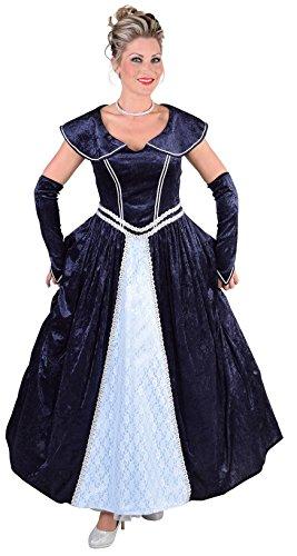 M217110-M Damen Rokoko Kleid Kostüm Marquisin Prinzessin Gr.M=40