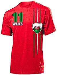 UK Großbritannien Langarm Longsleeve T-Shirt Trikot Fußball Nr ALL 10 Sport