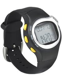 TRIXES Reloj contador de calorías con alarma y calendario, y pulsómetro BMP con ritmo cardíaco.