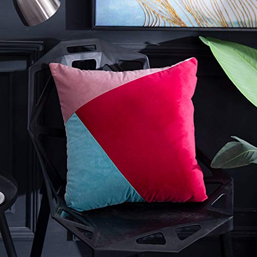 Copridivano cuscino abbraccio federa colore copriletto cuscino federa in velluto colore federa copriletto 2 colori 45x45cm