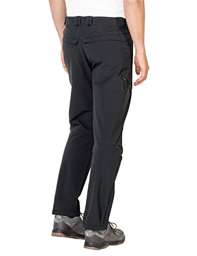 Jack Wolfskin Herren Activate Thermic Pants Men Softshell-Hose, Schwarz, 56 (EU) Black