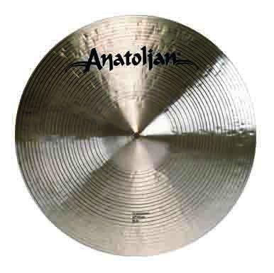 ANATOLIAN CYMBALS ATS21HRDE Opiniones PLATO 21 TRADITIONAL H-RIDE CYMBALS  COLOR DORADO