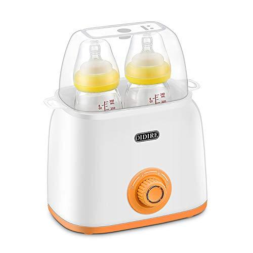 NAUY @ Calentador Multifuncional, esterilizador a Vapor, 2 en 1, Leche Caliente automática, Calentamiento Constante, Temperatura Inteligente, biberón, Aislamiento Productos para el Cuidado del bebé